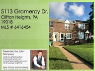 5113 Gramercy Dr Clifton Heights PA, 19018