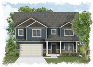Plan 2875 - Spring Creek Ranch Lehi UT, 84043