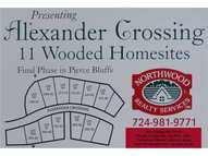 Lot # 68 Alexander Crossing Hermitage PA, 16148