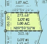 Lot 2 Saddle Club Estates (Howe Pl) West Terre Haute IN, 47885