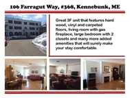 106 Farragut Way 368 Kennebunk ME, 04043