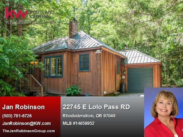 22745 E Lolo Pass Rd Rhododendron OR, 97049
