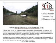 1305 Hidden Valley Road Blanchard ID, 83804