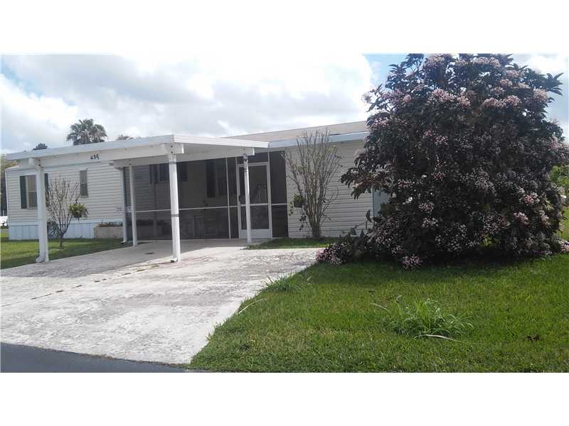 35303 Southwest 180 Av 419 Florida City FL, 33034